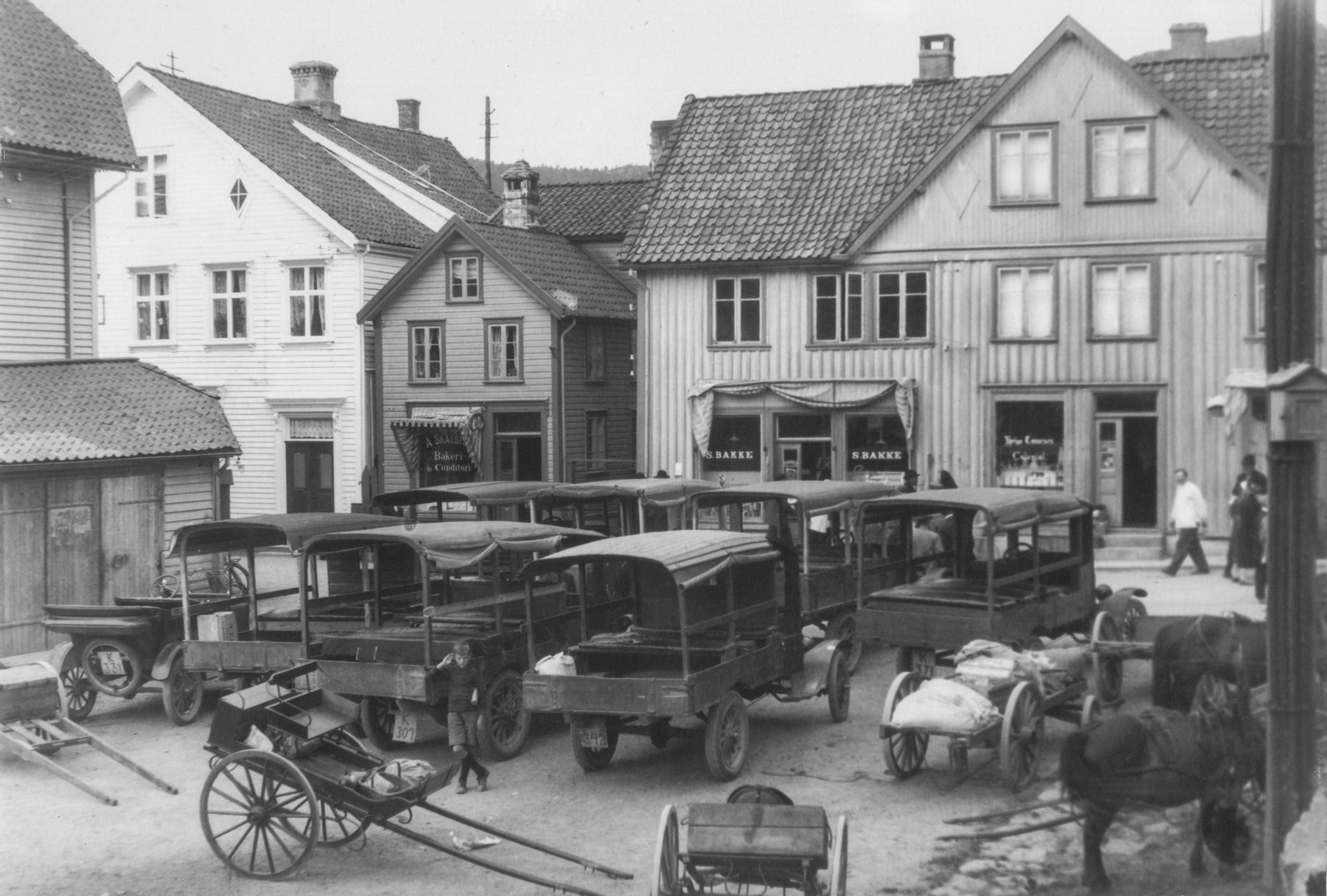 Svindland utsalg tidlig 1900 tallet