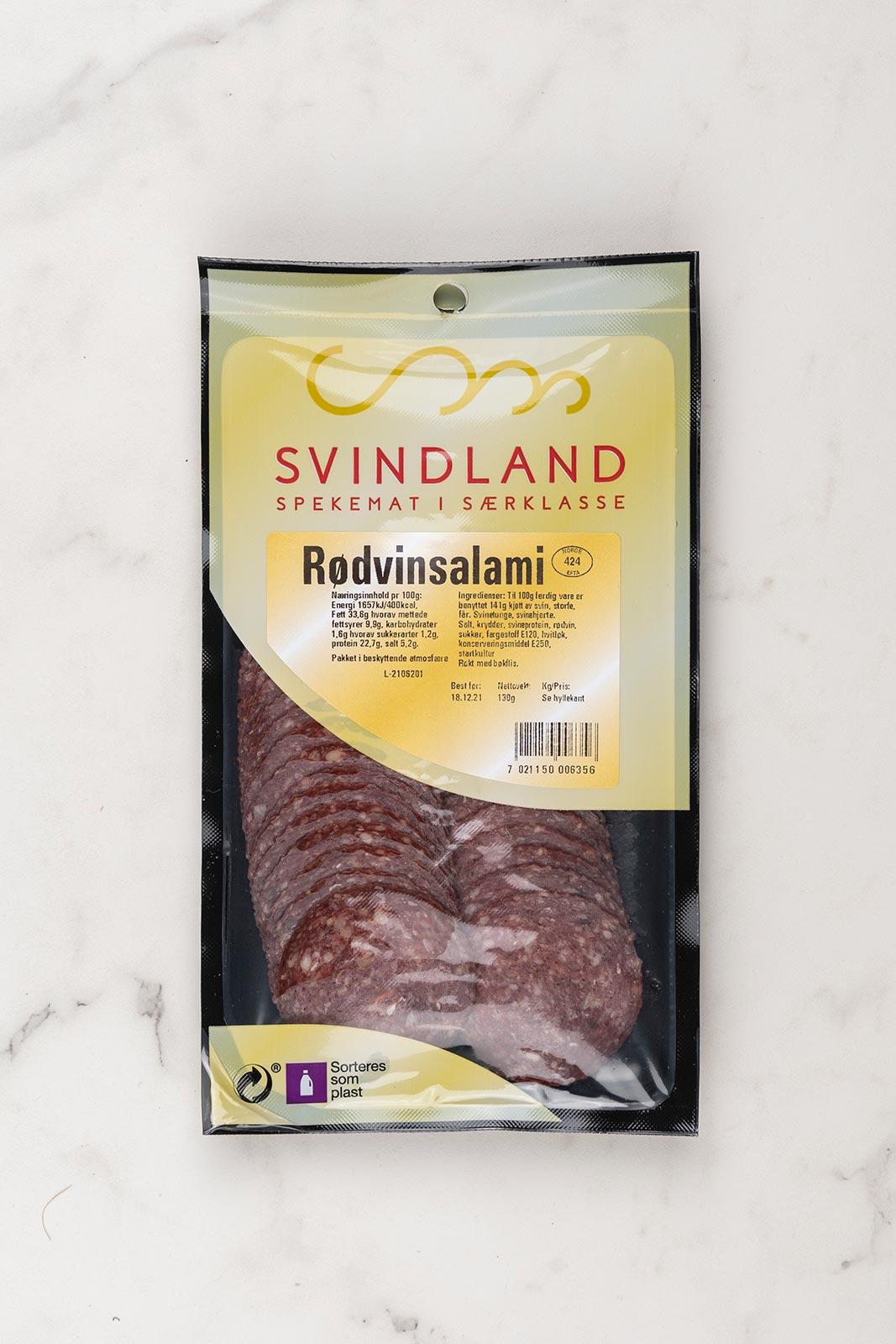 Svindland Rødvinsalami